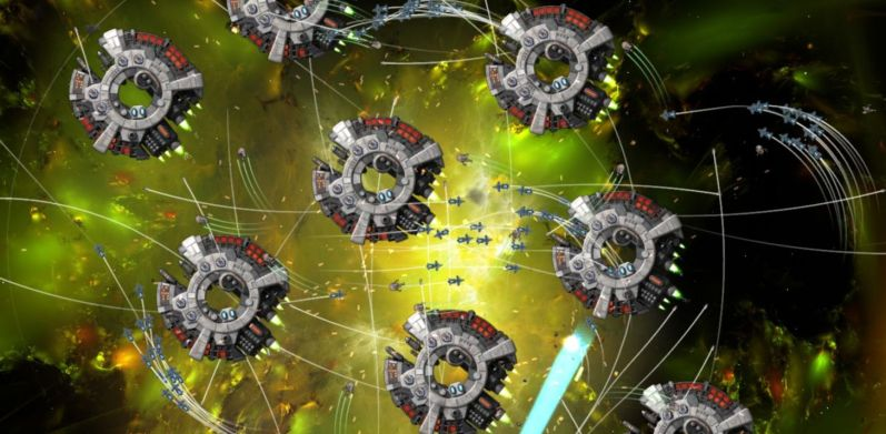 Gratuitous-space-battles-swarm-war